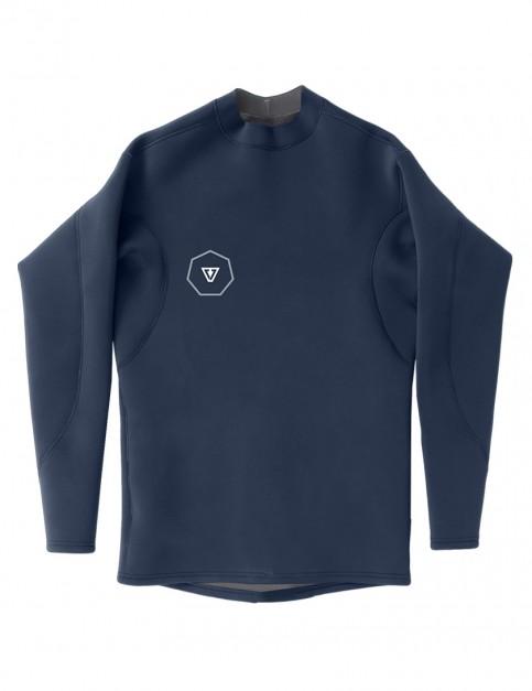 Vissla Performance Long Sleeve 1mm wetsuit Jacket 2018 - Naval