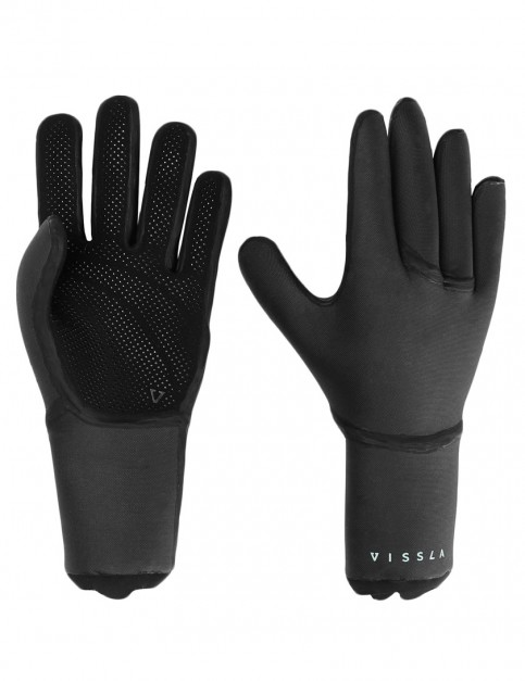 Vissla 7 Seas 3mm wetsuits gloves - Black