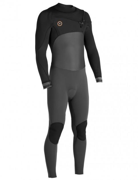 Vissla 7 Seas 50/50 Chest Zip 4/3mm wetsuit 2018 - Asphalt