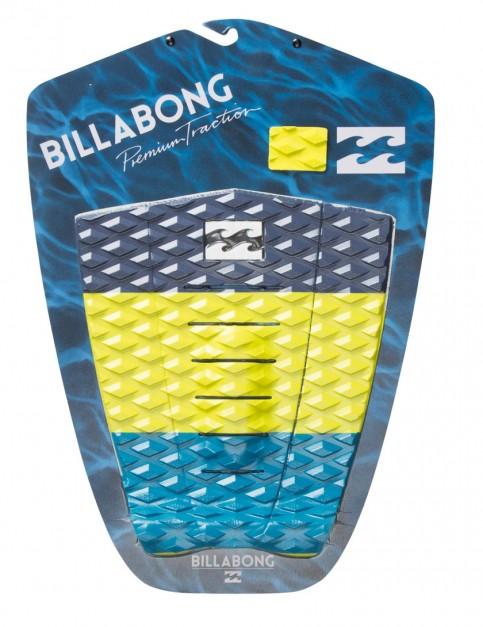 Billabong Tri Bong surfboard tail pad - Lime