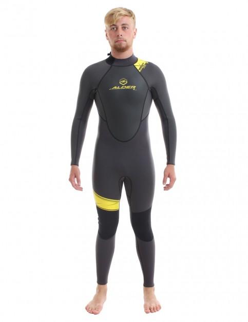 Alder Impact 50 3/2mm wetsuit 2017 - Graphite Black