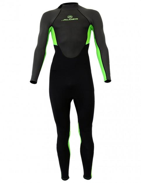 Alder Impact Boys 3/2mm wetsuit 2017 - Green