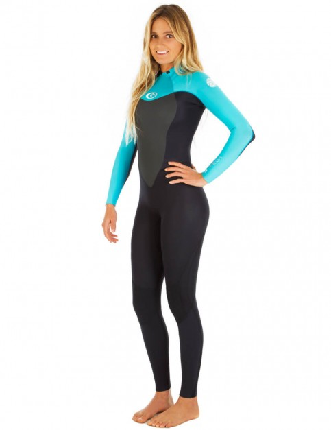 Rip Curl Ladies Omega 5/3mm Wetsuit 2017 - Turquoise