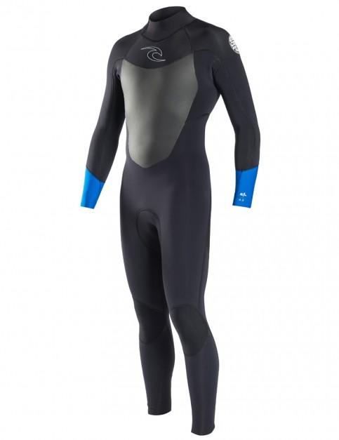 Rip Curl Dawn Patrol Back Zip 3/2mm wetsuit 2017 - Blue