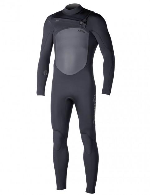 Xcel Infinity X2 Chest Zip 3/2mm Wetsuit 2016 - Black