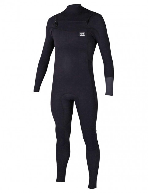 Billabong Revolution Tri Bong Chest Zip 4/3mm Wetsuit 2017 - Grey