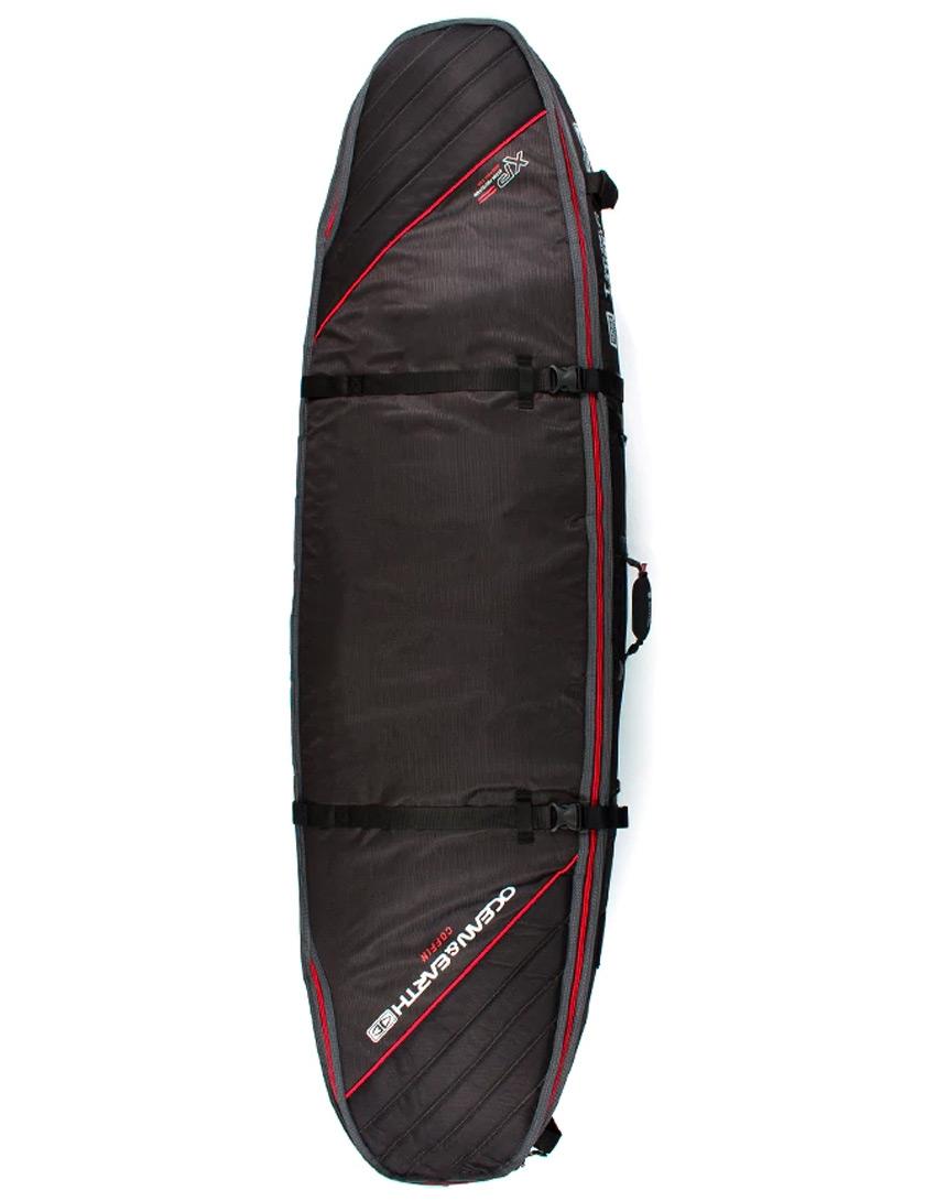 dd897216bce3 Ocean   Earth Triple Coffin Shortboard surfboard bag 10mm 7ft 0 - Black