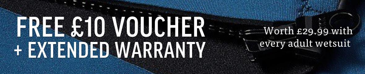 Extended Warranty + Gift Voucher