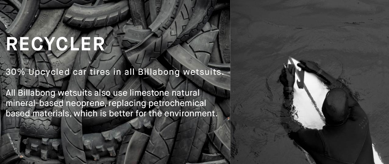 Billabong Wetsuit Recycling