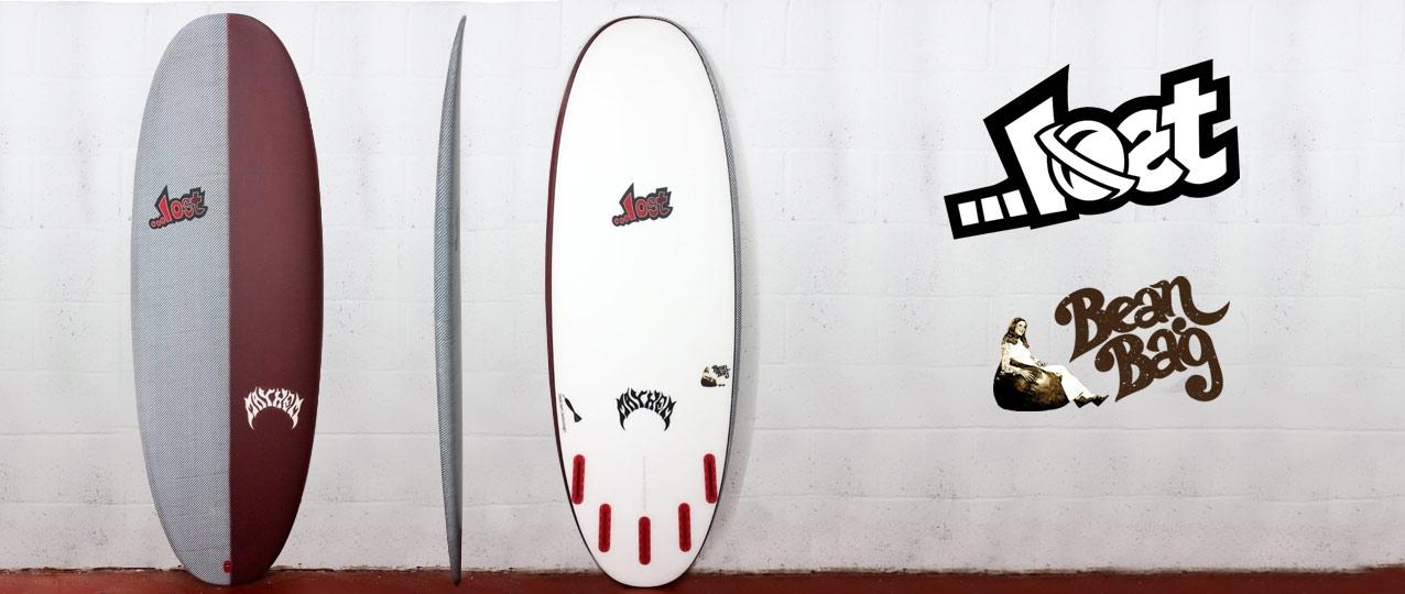 Lost Black Dart Bean Bag Surfboard