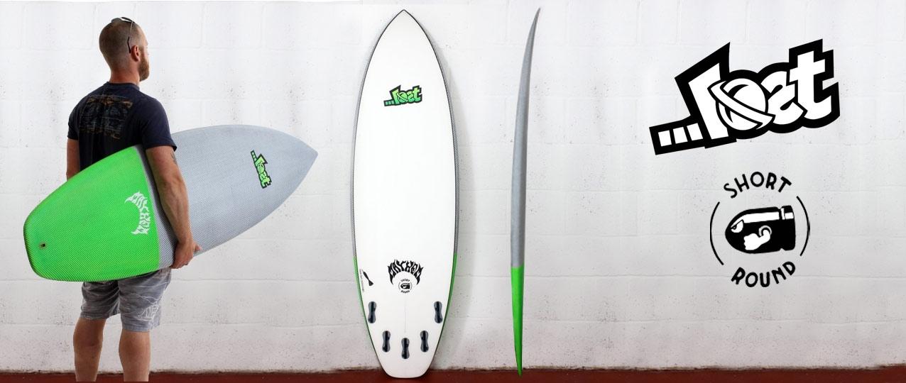 Lost Black Dart Short Round Surfboard