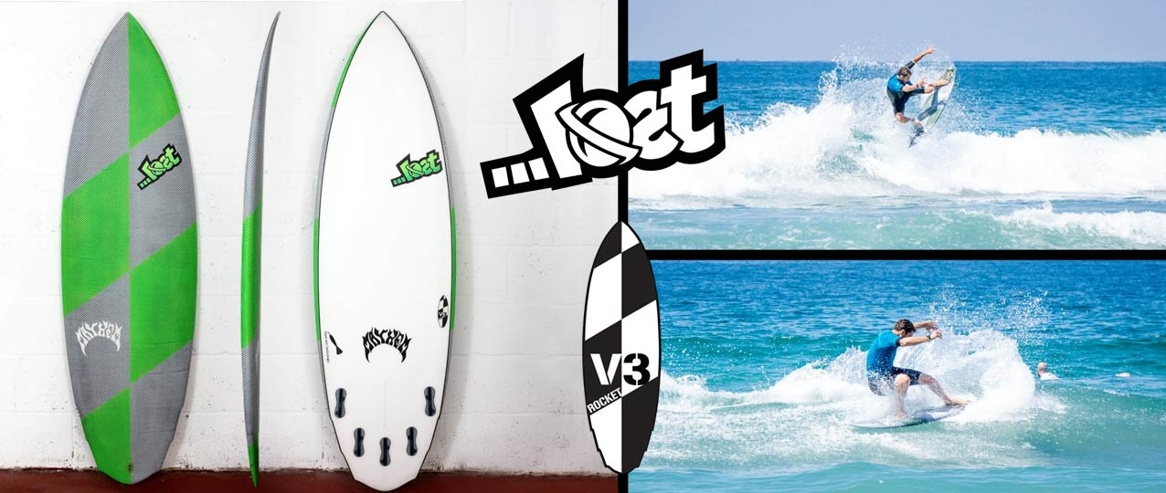 Lost Black Dart V3 Rocket Surfboard
