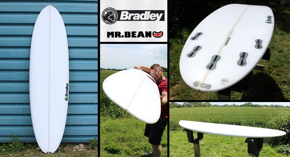 Bradley Mr Bean Surfboard
