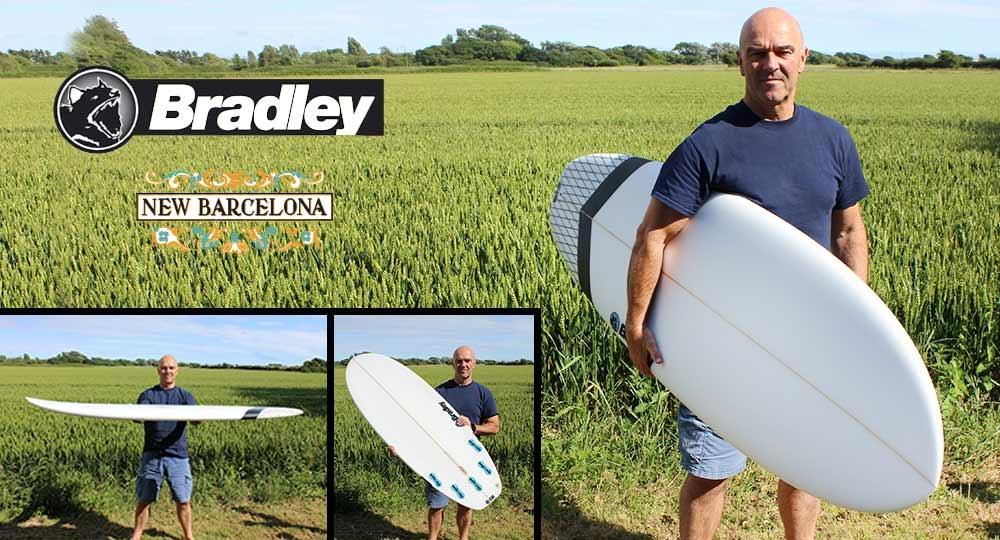 Bradley New Barcelona Surfboard