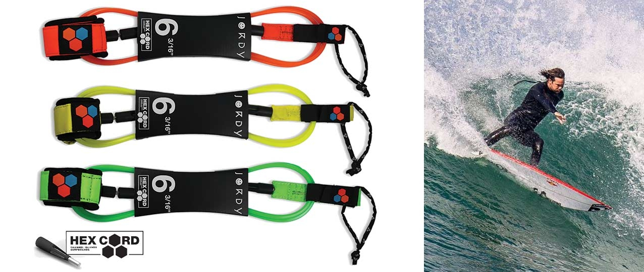 Channel Islands Jordy Standard Hex Surfboard Leash