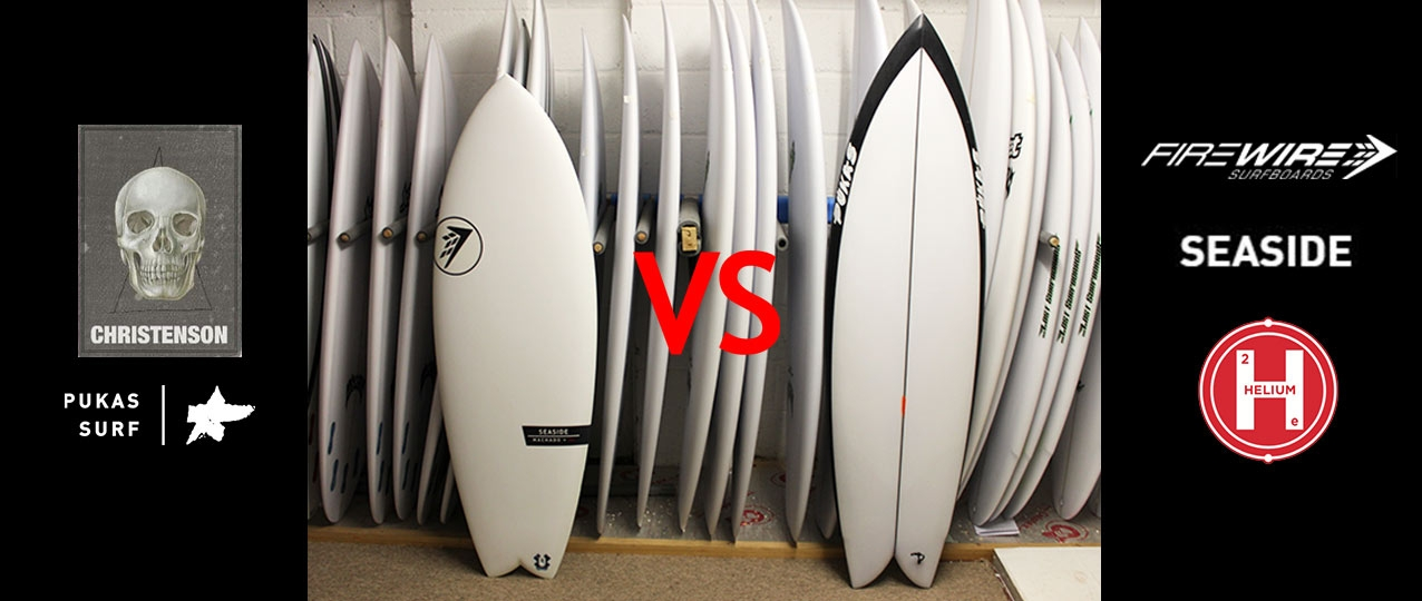 Christenson Pegaso vs Firewire Seaside Surfboards