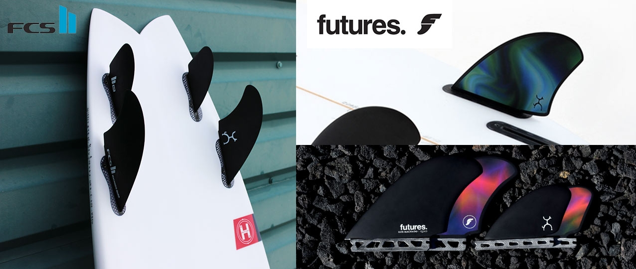 Firewire Seaside Futures And FCS II Fins