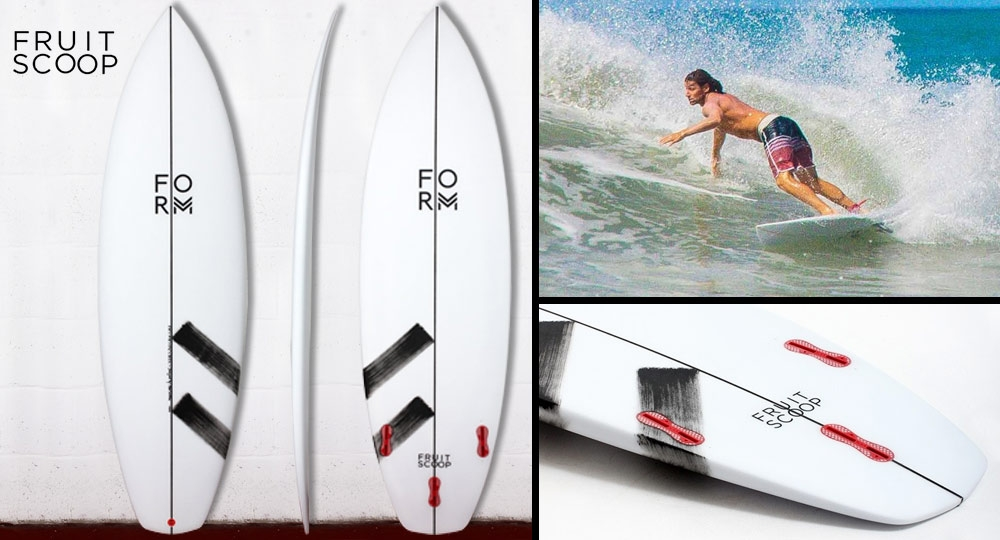 Form Fruit Scoop Surfboard