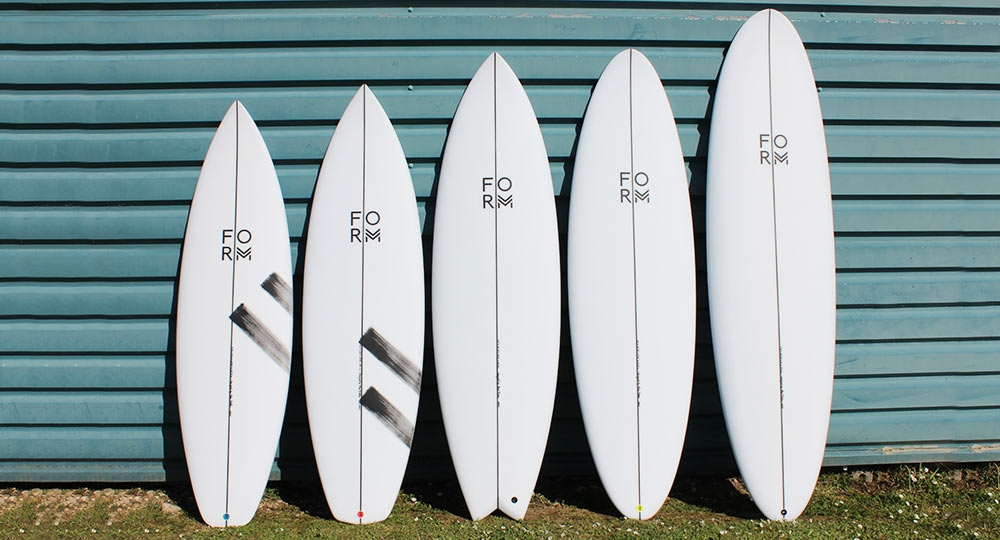 Form Surfboards Line Up