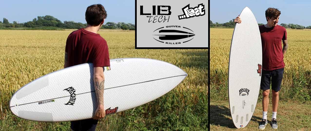 Lib Tech x Lost Quiver Killer Surfboard