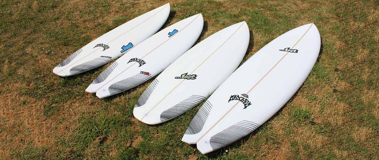 Lost Surfboards 2018 Line Up
