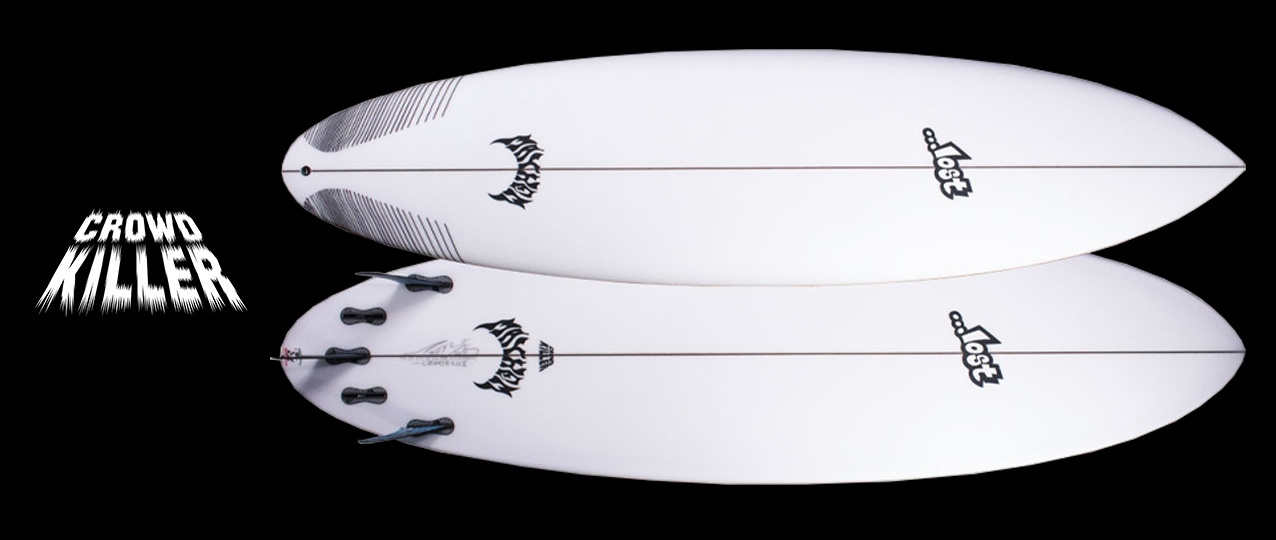 Lost Crowd Killer Round Tail Surfboard
