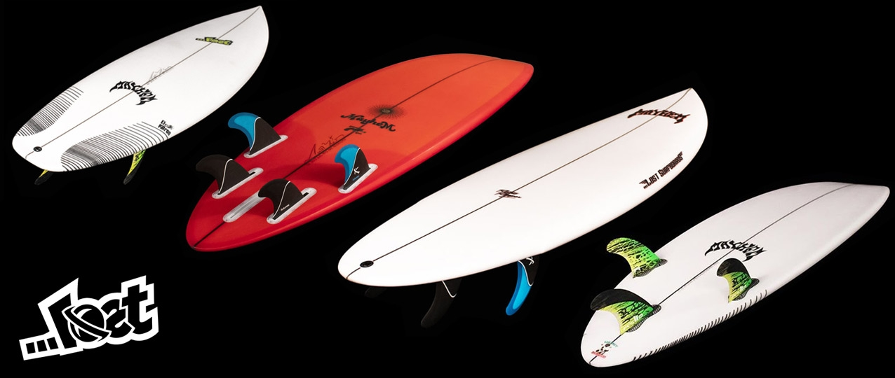 Lost Surfboards New Surfboards