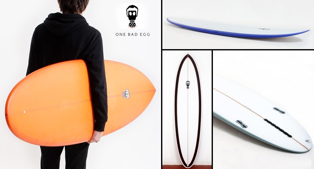 d10a416741 Mark Phipps One Bad Egg Surfboard