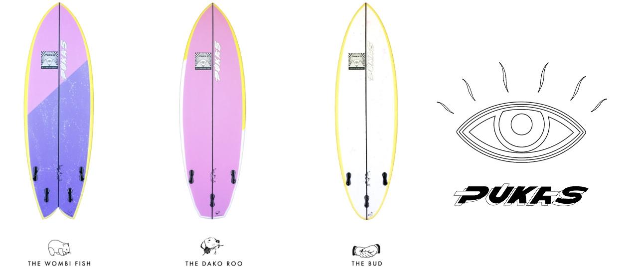 Pukas Eye Symmetry Surfboards