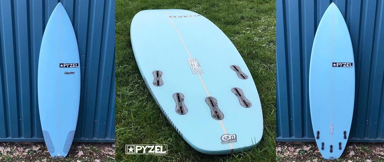 Pyzel Phantom Custom Surfboard Of The Month