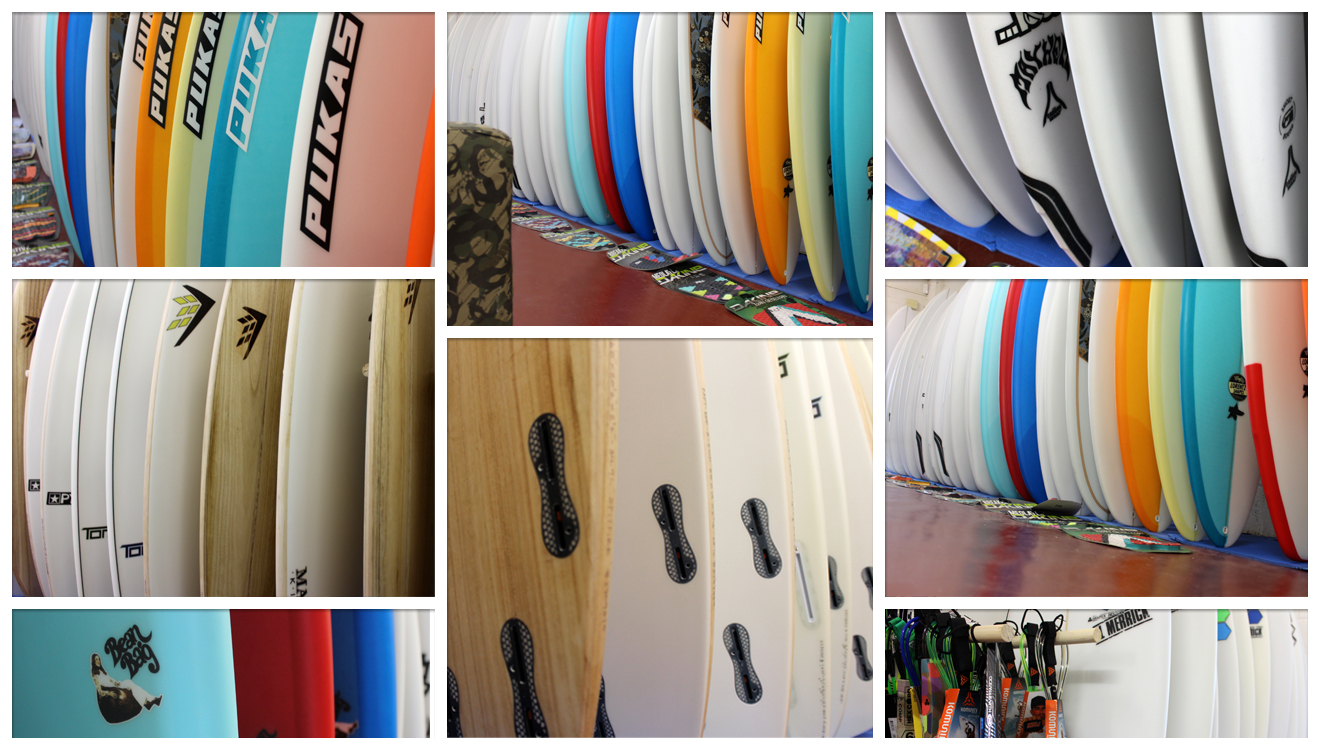 Boardshop Surfboard Showroom